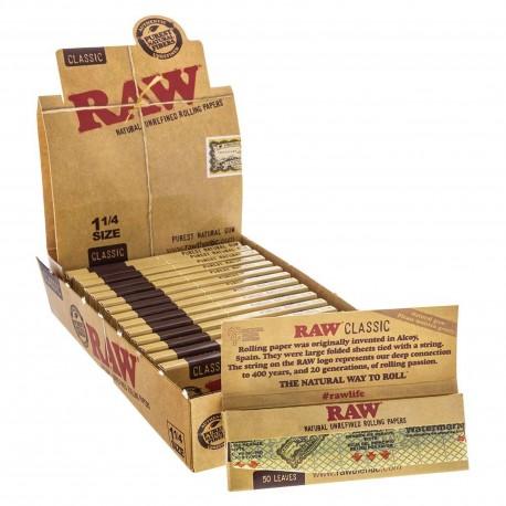 Raw Classic 1 1/4 Medium Size Box