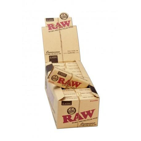 Raw Connoisseur Classic 1 1/4 Medium Size + Filtri Box