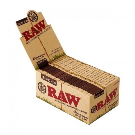 Raw Connoisseur Organic 1 1/4 Medium Size + Filtri Box