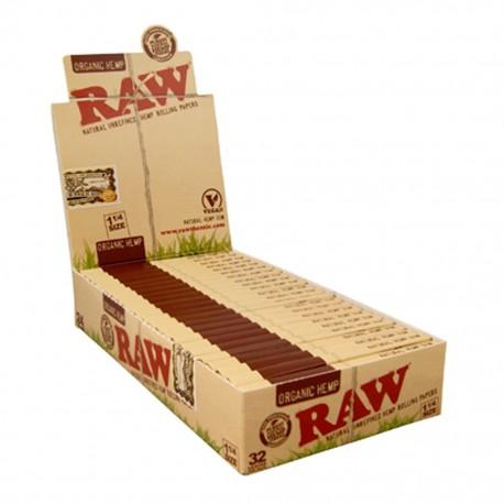 Raw Organic 1 1/4 Medium Size Box