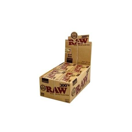 Raw 300'S Classic 1 1/4 medium size Box
