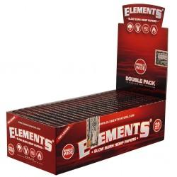 Elements Rot Doppel Normaler Größe