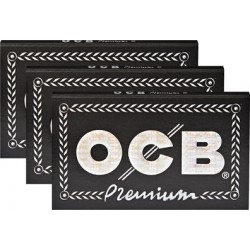 OCB Schwarz Premium Double Regular Size 3PZ