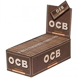 OCB Unbleached Virgin Regular Size Box