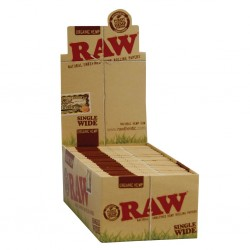 Raw Organic Single Wide normale Größe Box