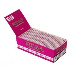 Rizla Micron Rose Edition Double Taille Régulière Box