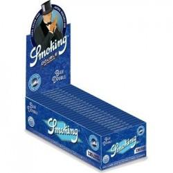 Smoking Bleu Double Taille Régulière Box
