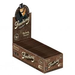 Smoking Marron Double regular Taille Box