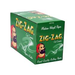 Zig Zag Grün Normale Größe Box