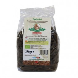 Sedanini Organic Pasta Rice with seeds Integral and Hemp