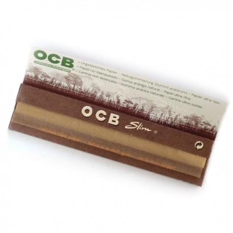 OCB Unbleached Virgin Slim King Size