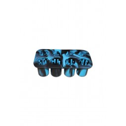 Silicone Smoke Cubes Ice Blu