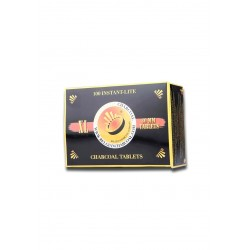 Carbone Shisha Accensione Immediata 40mm (10PZ)