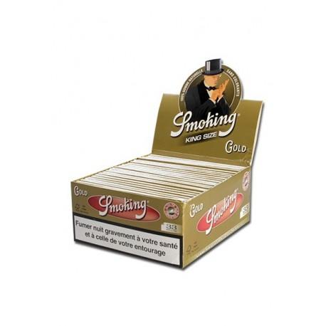 Smoking Gold King Size