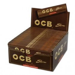 OCB Unbleached Virgin Slim King Size Box